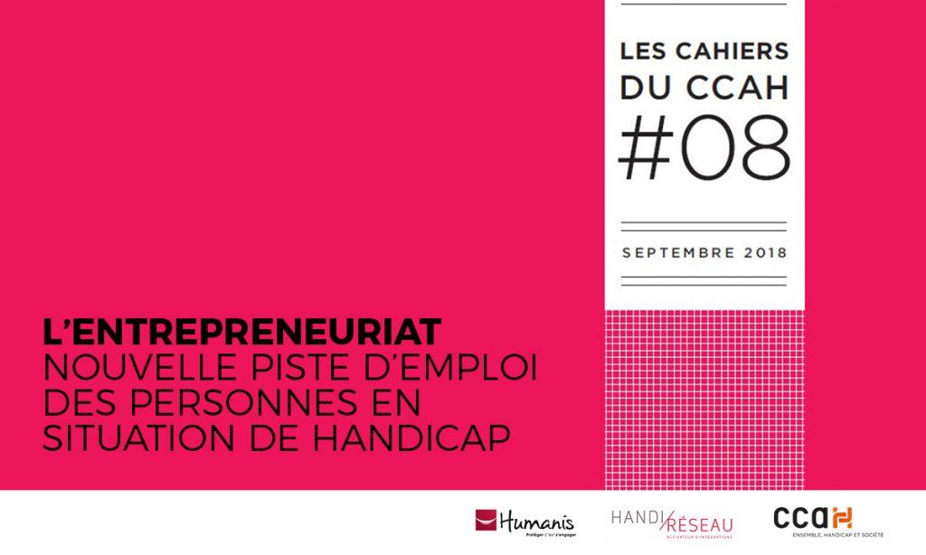 Affiche L'entrepreneuriat nouvelle piste d'emploi des personnes en situation de handicap