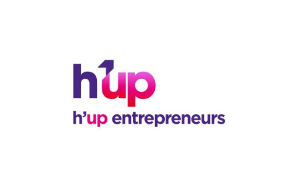 Le logo de h'up entrepreneurs