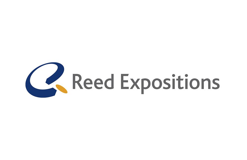 Le logo de Reed Expositions