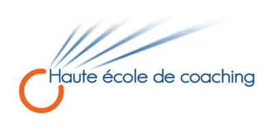 Le logo de la Haute école de coaching