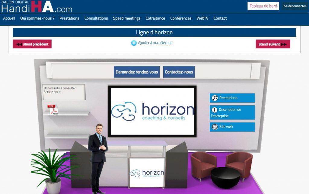 handiHA Stand virtuel cabinet Horizon